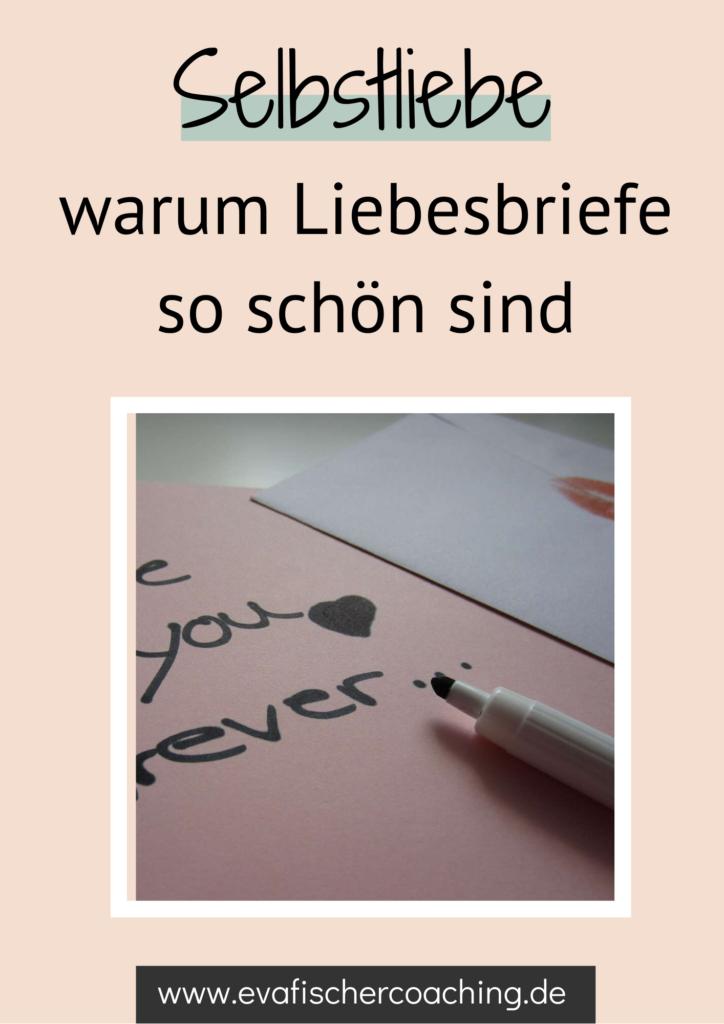liebesbriefe - selbstliebe