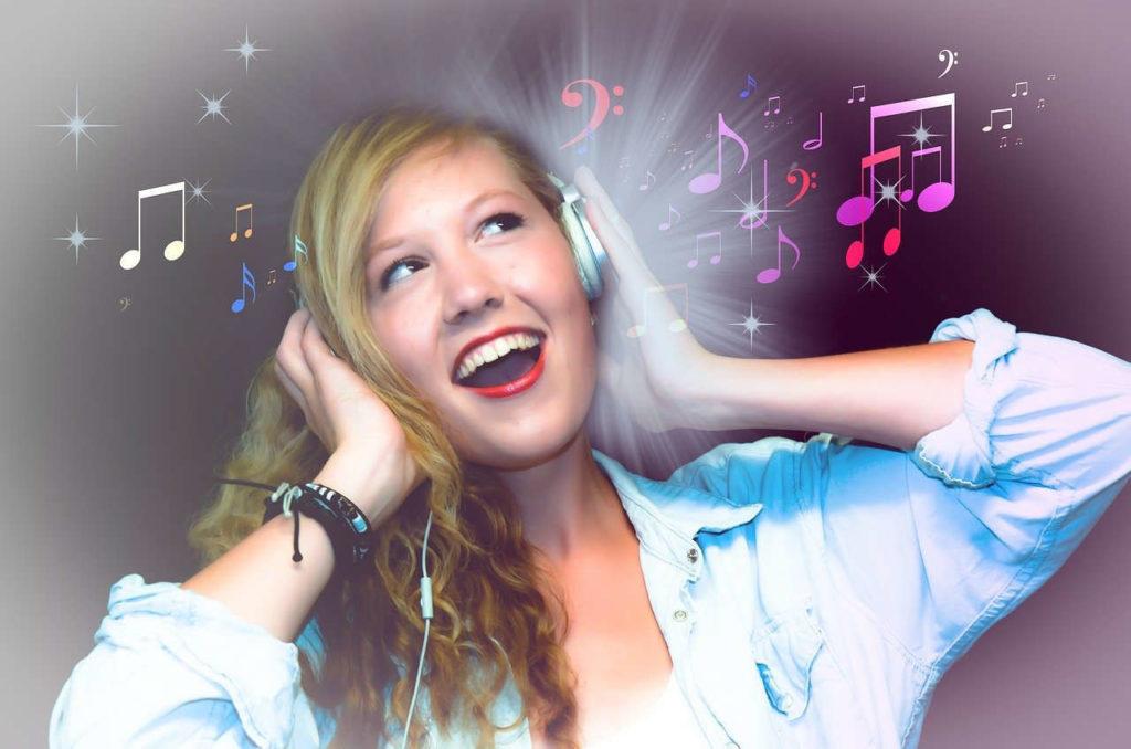 Gute Laune mit Musik