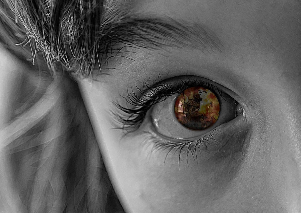 Auge - Zukunftsangst