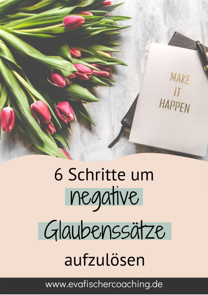 auflösen von negativen Glaubenssätzen