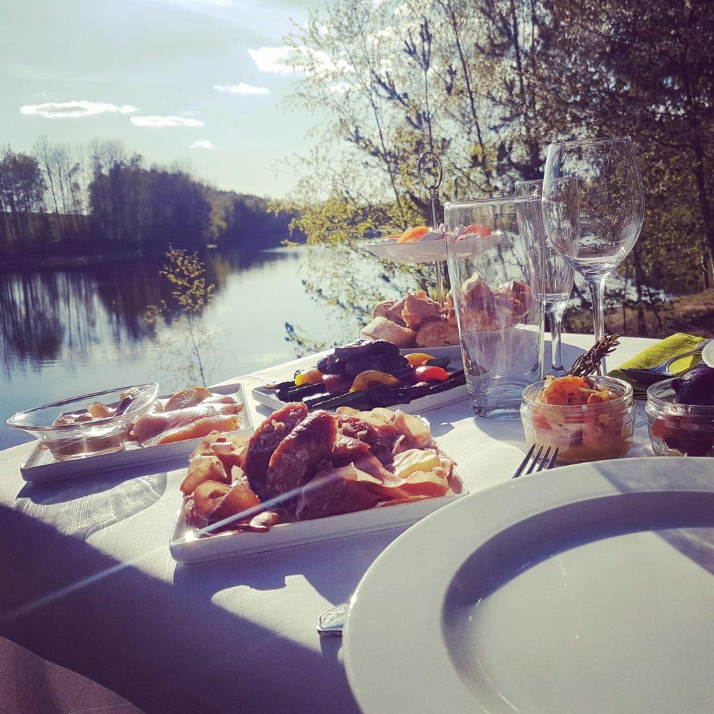 picknick am felsen - kurzurlaub im fichtelgebirge
