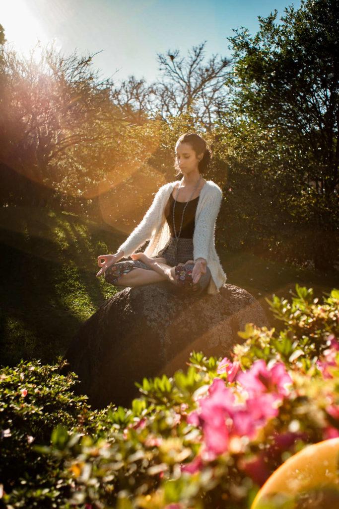 spirituell sein - meditieren