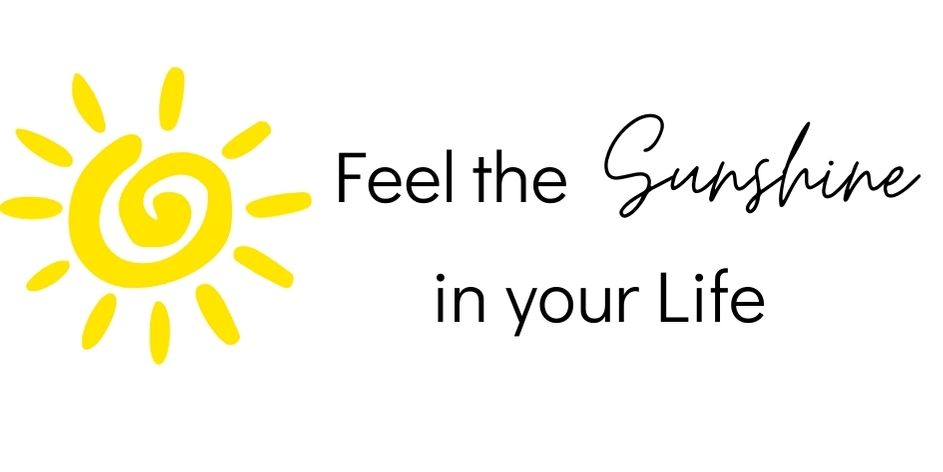 feel the sunshine in your life - eva fischer