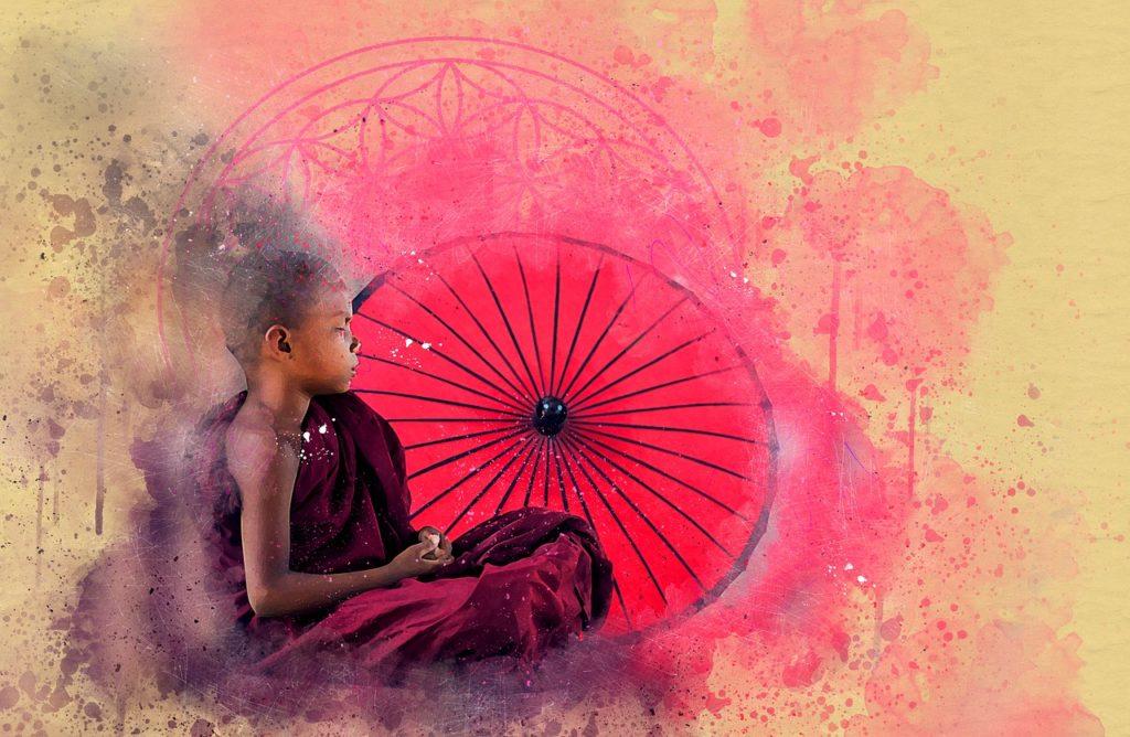 Buddha - spirituell
