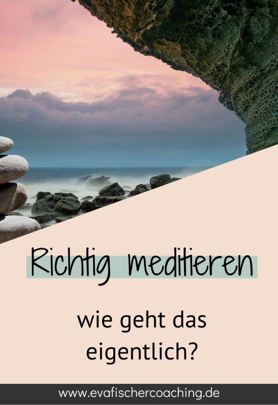 meditation - richtig meditieren